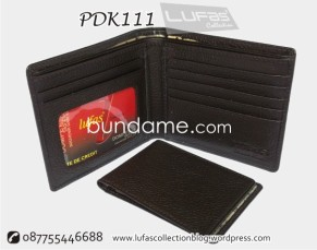 dompet kulit PDK111 coklat 1