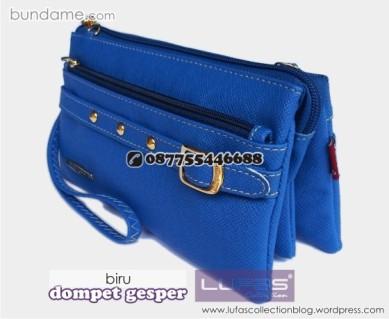 dompet gesper lufas biru 1