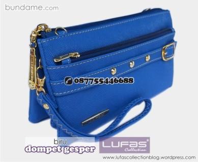 dompet gesper lufas biru 3