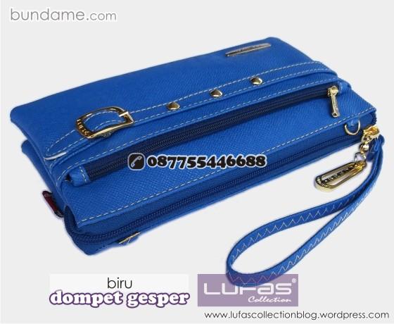 dompet gesper lufas biru 4
