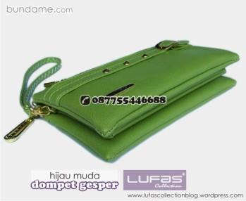 dompet gesper lufas hijau muda 5