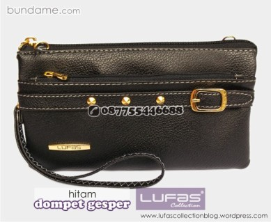 dompet gesper lufas hitam 3