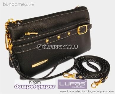 dompet gesper lufas hitam 5
