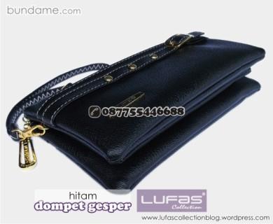 dompet gesper lufas hitam 6