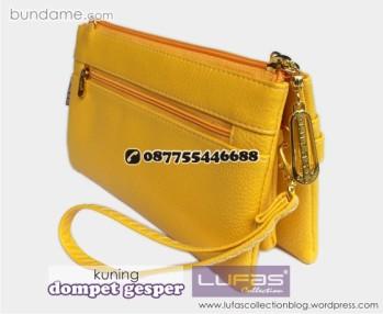 dompet gesper lufas kuning 2