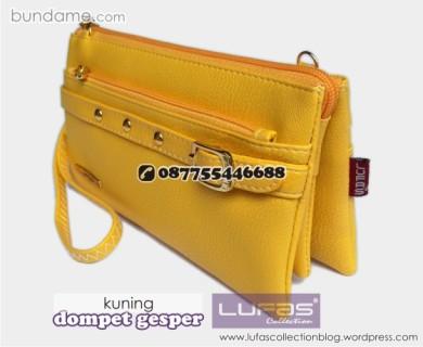 dompet gesper lufas kuning 3