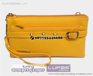 dompet gesper lufas kuning 4