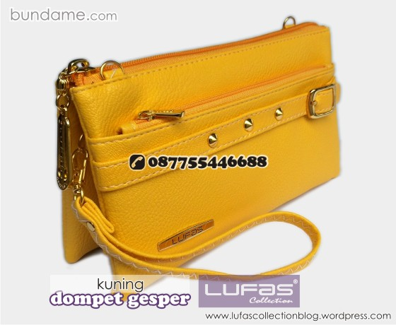 dompet gesper lufas kuning 5