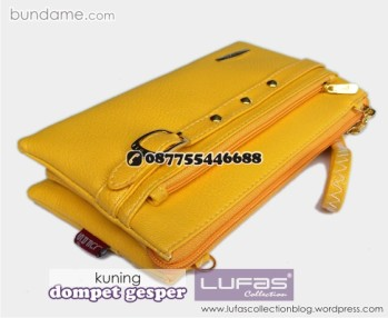 dompet gesper lufas kuning 6