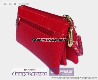dompet gesper lufas merah 3
