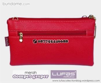dompet gesper lufas merah 4