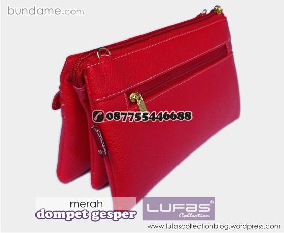 dompet gesper lufas merah 5