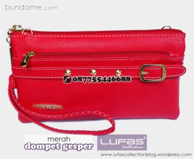 dompet gesper lufas merah 6