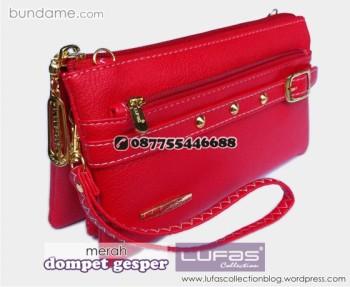 dompet gesper lufas merah 7