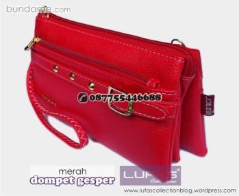 dompet gesper lufas merah 8