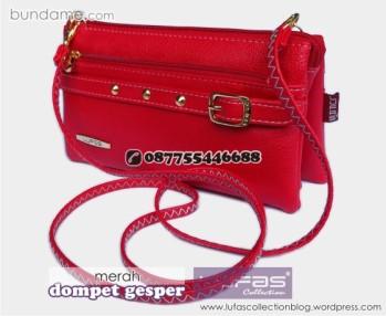 dompet gesper lufas merah 9