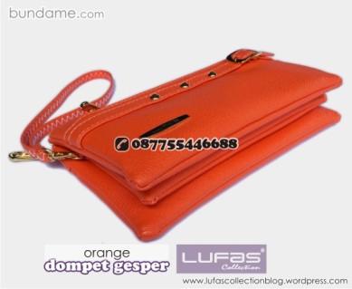 dompet gesper lufas orange 1