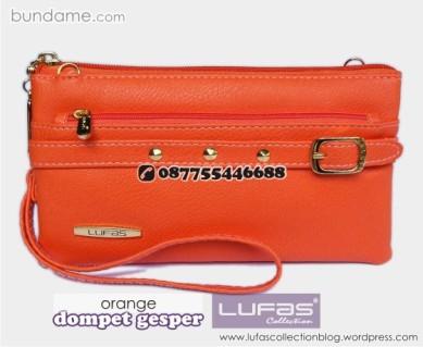 dompet gesper lufas orange 2