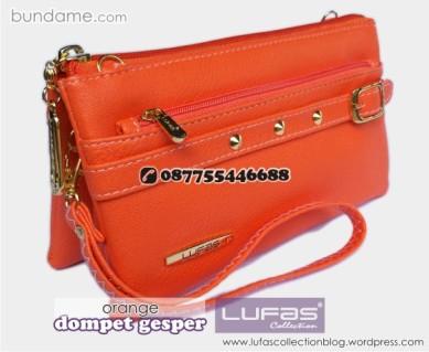 dompet gesper lufas orange 3