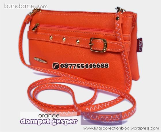 dompet gesper lufas orange 6