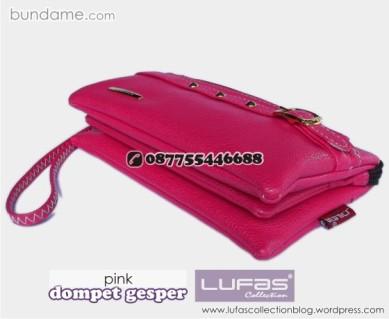 dompet gesper lufas pink 2