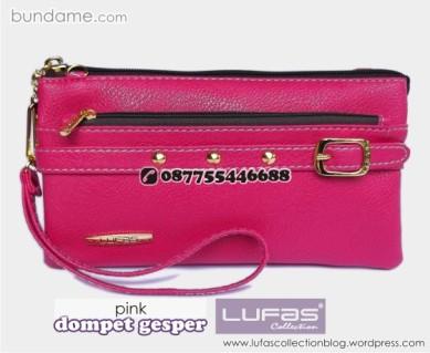 dompet gesper lufas pink 4