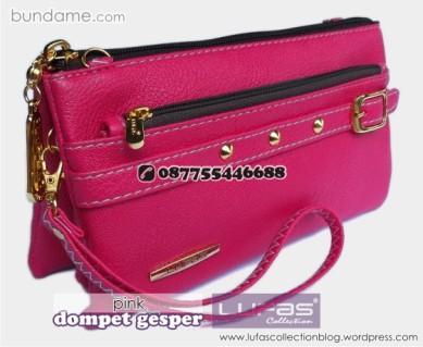 dompet gesper lufas pink 5