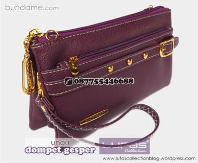 dompet gesper lufas ungu 3