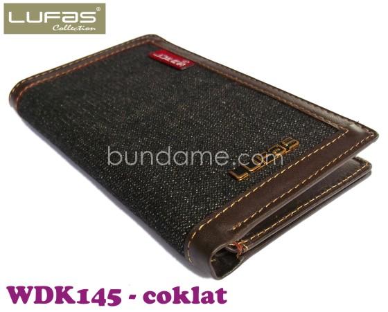 dompet kulit lufas WDK145 coklat 1