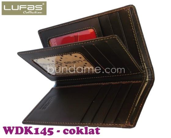 dompet kulit lufas WDK145 coklat 3