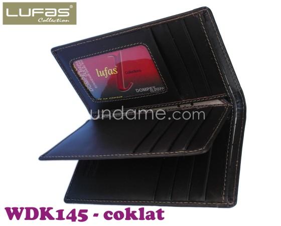 dompet kulit lufas WDK145 coklat 4
