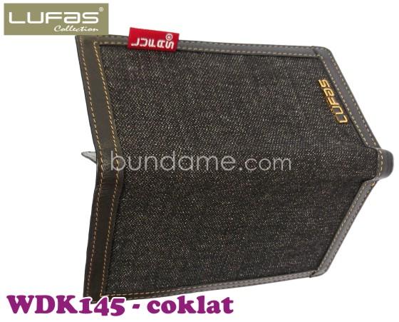 dompet kulit lufas WDK145 coklat 5