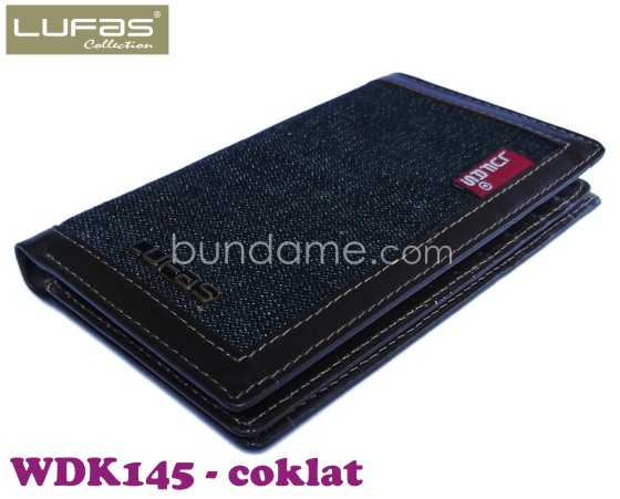 dompet kulit lufas WDK145 coklat 6
