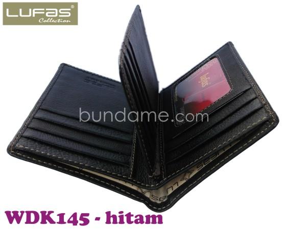 dompet kulit lufas WDK145 hitam 1