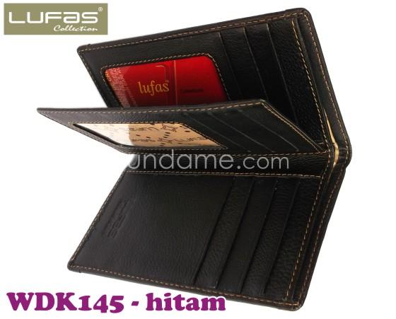 dompet kulit lufas WDK145 hitam 2