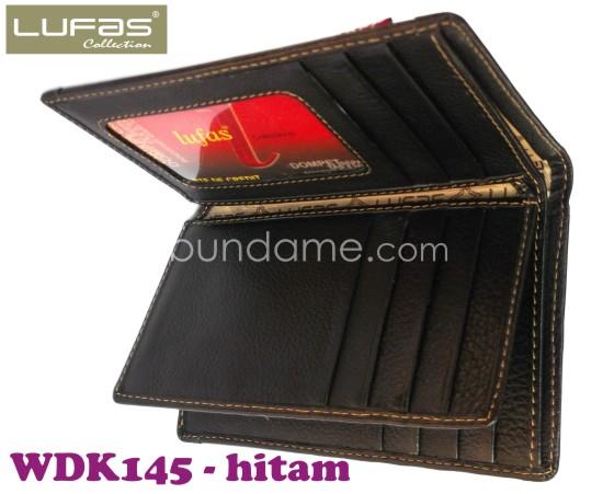 dompet kulit lufas WDK145 hitam 3
