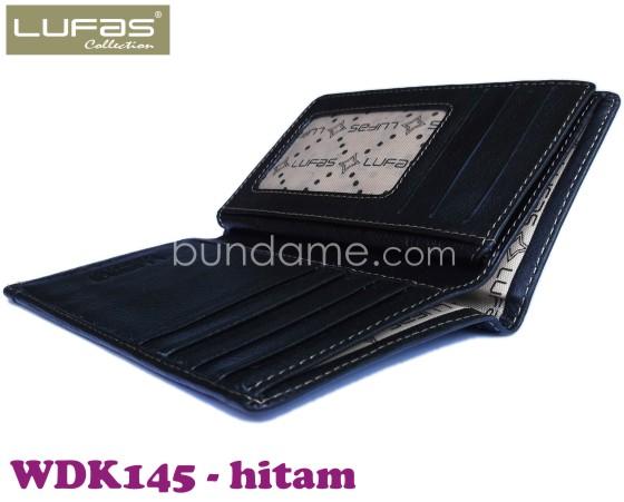 dompet kulit lufas WDK145 hitam 4