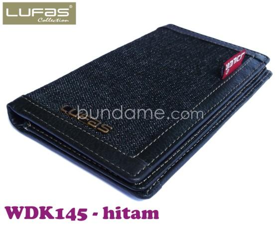 dompet kulit lufas WDK145 hitam 5
