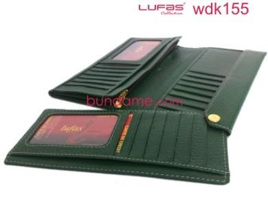 dompet kulit lufas wdk155 hijau 2