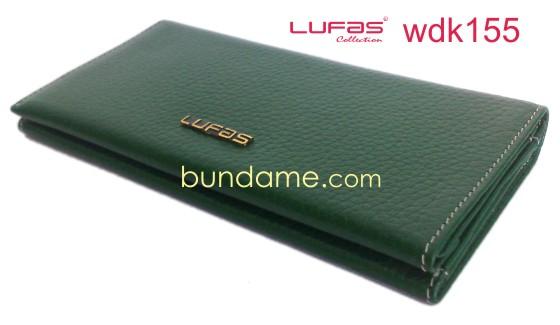 dompet kulit lufas wdk155 hijau