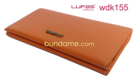 dompet kulit lufas wdk155 orange
