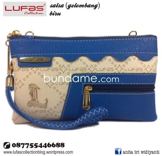 dompet lufas gelombang biru 2