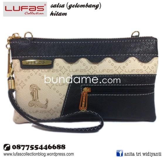dompet lufas gelombang hitam 2
