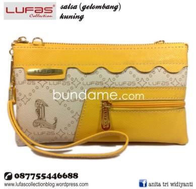dompet lufas gelombang kuning 2