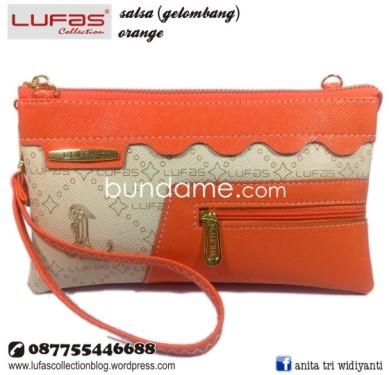 dompet lufas gelombang orange 2