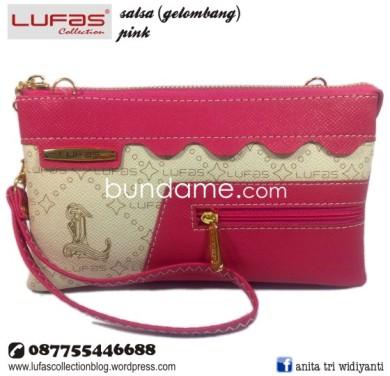 dompet lufas gelombang pink 2