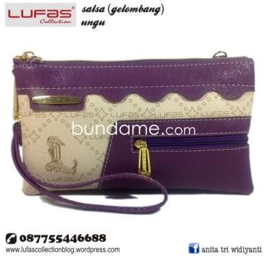 dompet lufas gelombang ungu 2