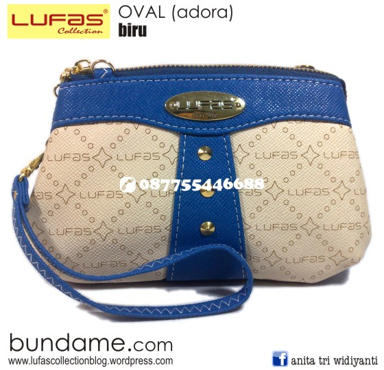 dompet lufas oval biru 2