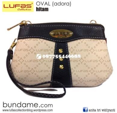 dompet lufas oval hitam 2