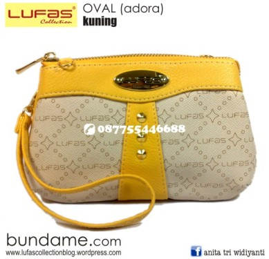 dompet lufas oval kuning 2
